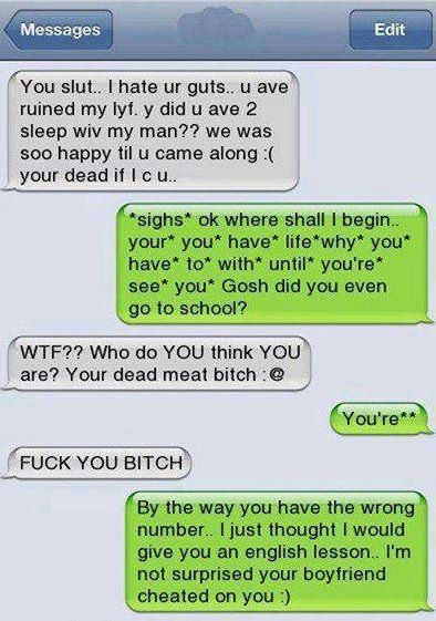 Funny iPhone conversation