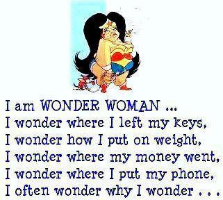 I am the real wonder woman