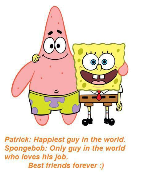 spongebob and patrick best friends forever