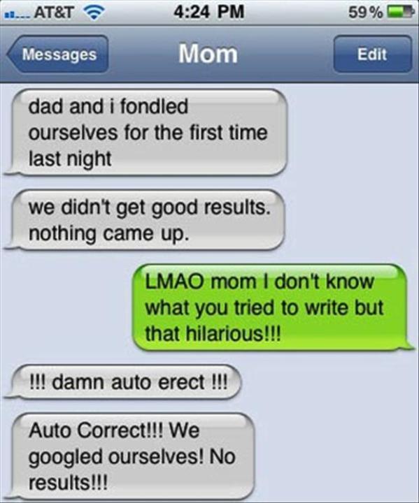 4 Racy Auto Correct
