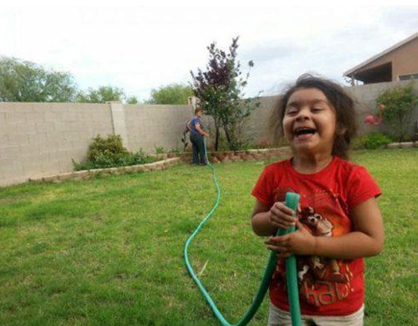 5.) This parent who just wanted to do some gardening.