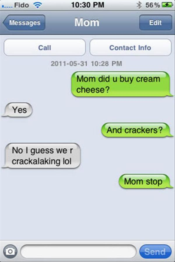 6 Mom Is Cracking Up
