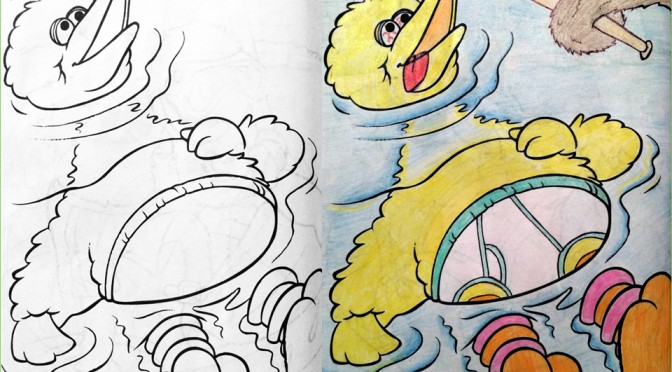 Children\'s Coloring Book Pages That Have Been Turned Into Sinister ...