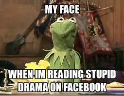 drama on facebook