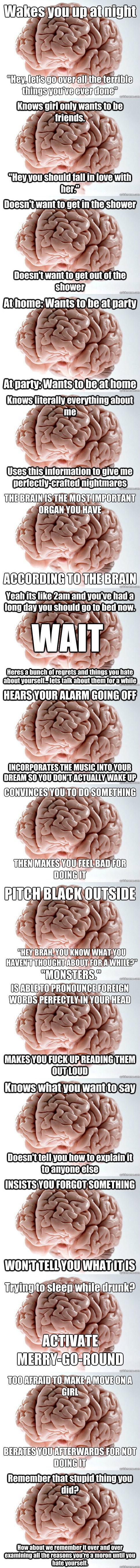 Why you do this brain