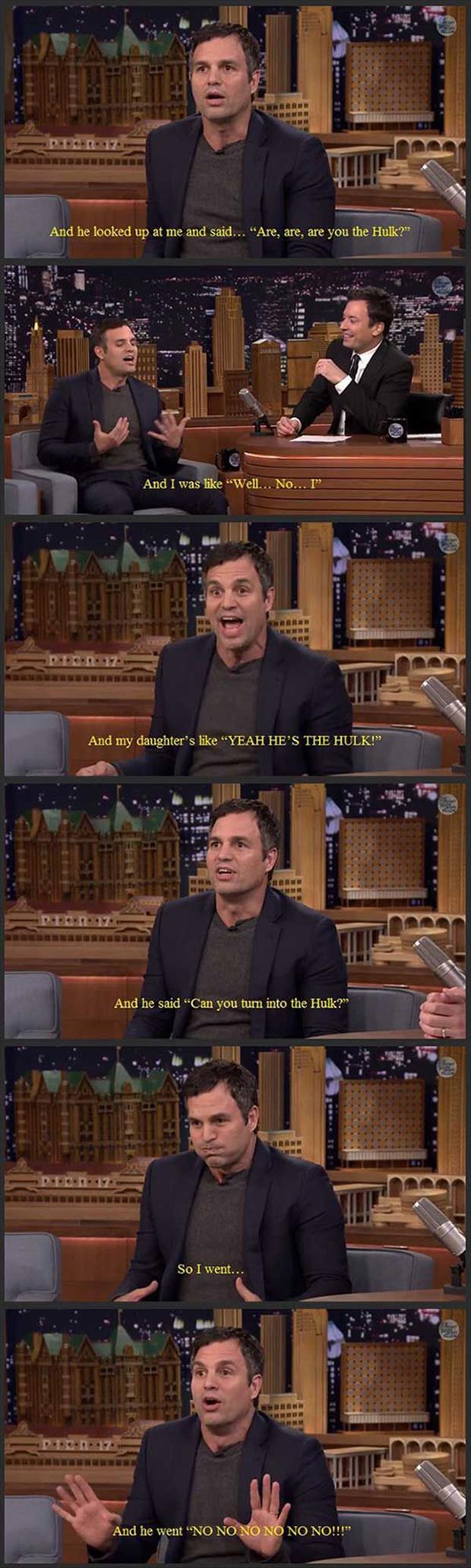 Can you turn into Hulk