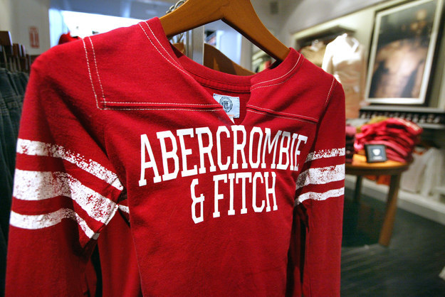 Being obsessed with Abercrombie & Fitch and thinking it was the coolest store ever.