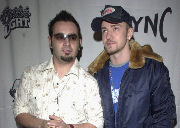 Feeling more attracted to Chris Kirkpatrick than J.T.
