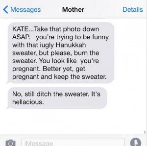 She's full of fashion advice…