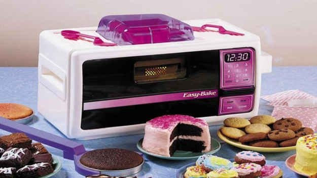 That you could totally run away and subsist on treats you make in your Easy-Bake Oven.