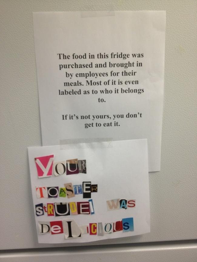 food in this fridge