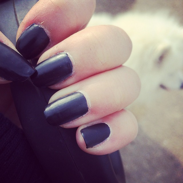 How bad your hands smelled after you colored your nails with Sharpies, since you weren't allowed to own black nail polish.