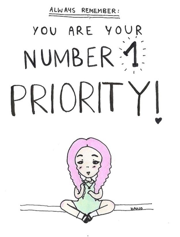 Always prioritize yourself