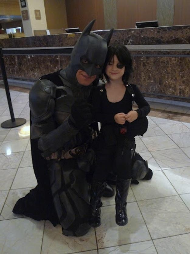 Domino Meets Batman