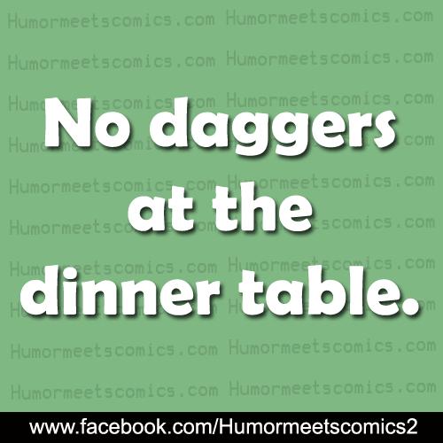 No-daggers