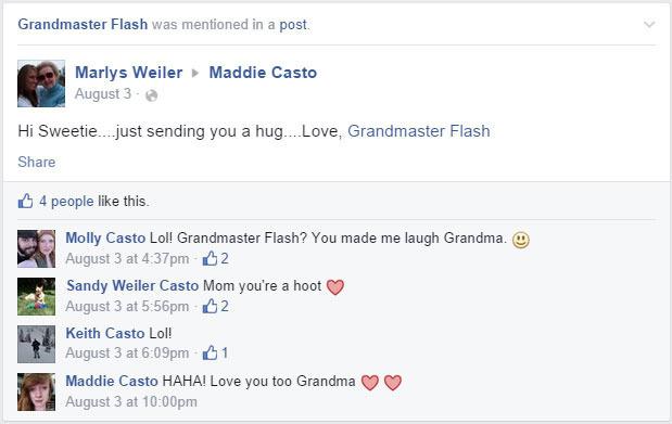 Oh, that Grandmaster Flash.