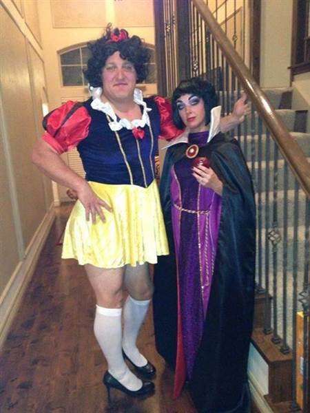 1) Snow White and the Evil Queen