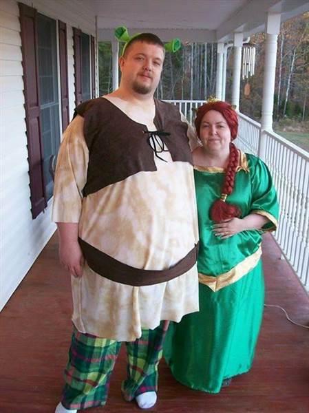 4 Shrek and Fiona