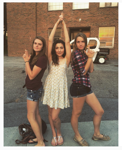5. Obligatory Charlie's Angels recreation that isn't trite at this point…(yes it is)