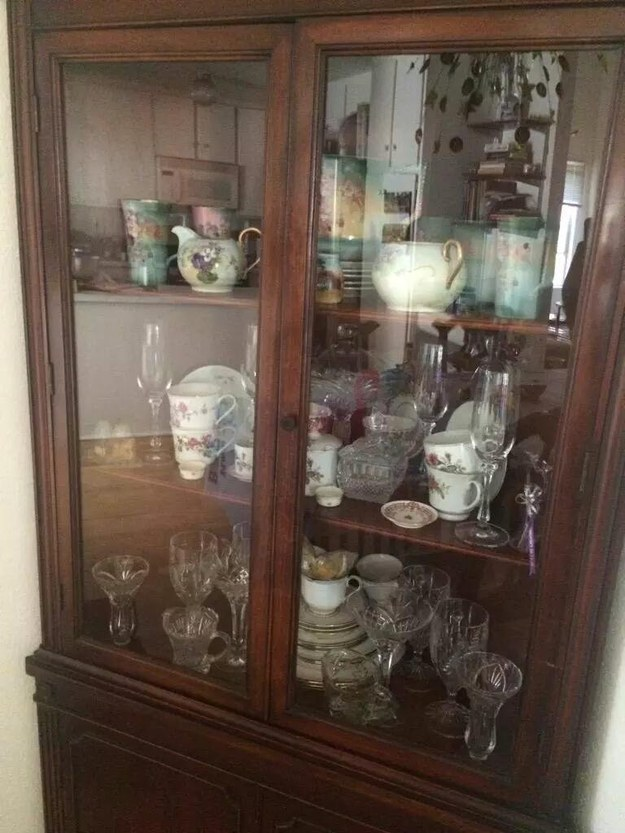 A cabinet full of things you can NEVER touch