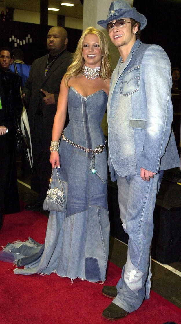Britney Spears and Justin Timberlake – January 2001