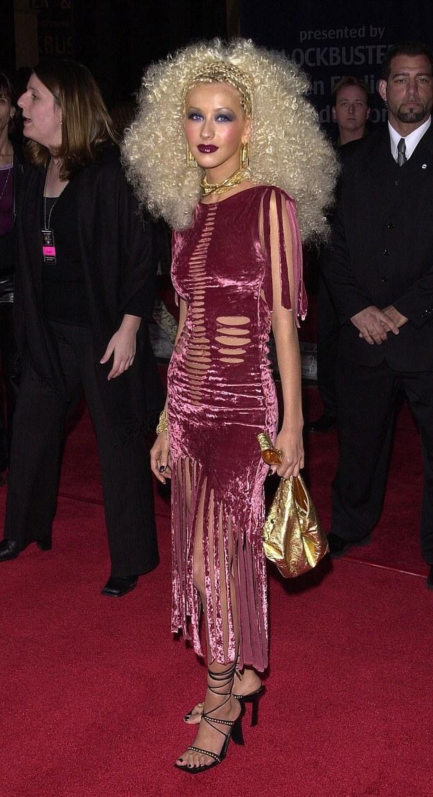Christina Aguilera – April 2001