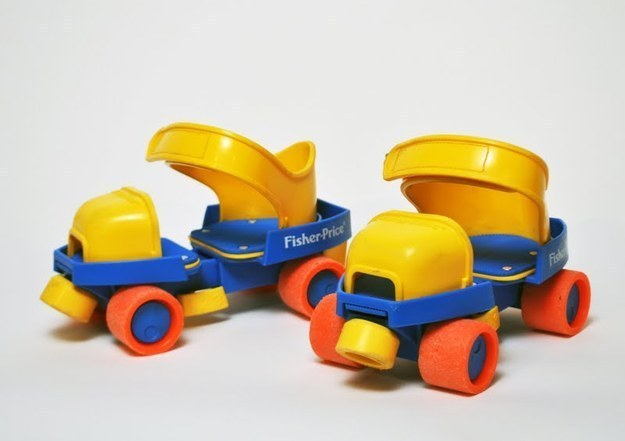 Fisher-Price 1-2-3 Roller Skates