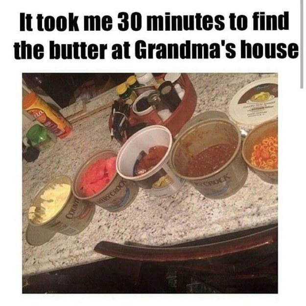 Makeshift mystery Tupperware