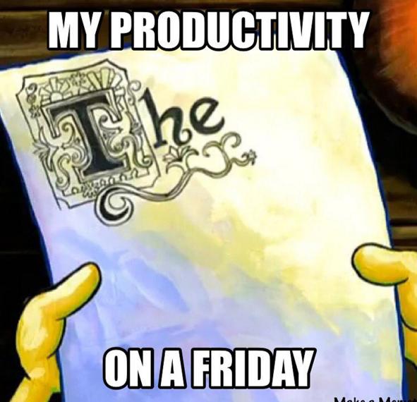 When it's been a long week