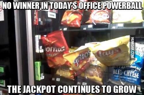When the vending machine isn't playing fair