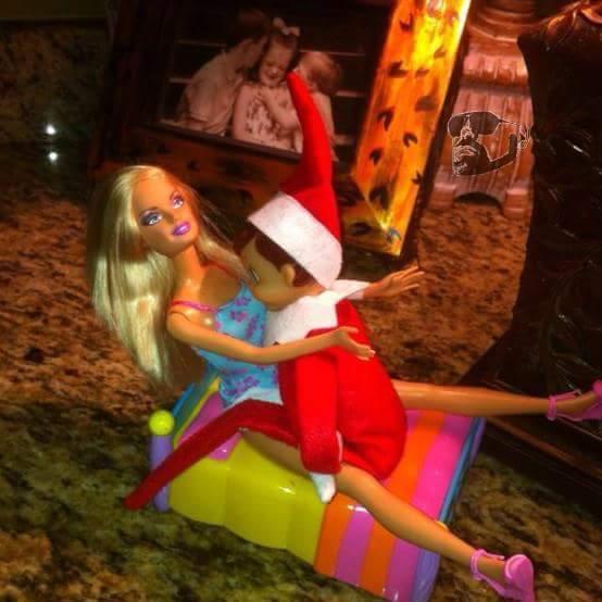 creepy pics of an elf on the shelf 2