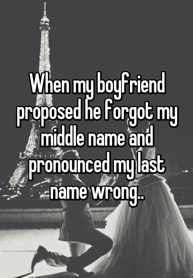 Terrifying Proposal Stories That Will Make You Feel Lucky About - 18 worst proposals ever