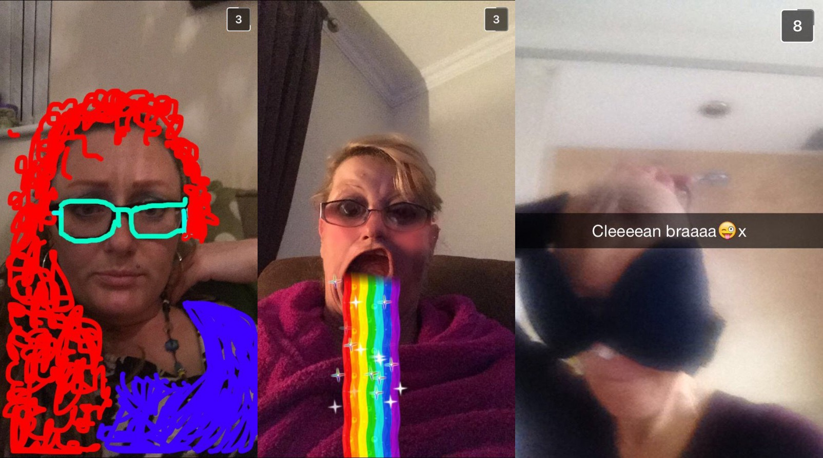 23 Hilarious Moms Who Took Their Snapchat Game Way Too Far!