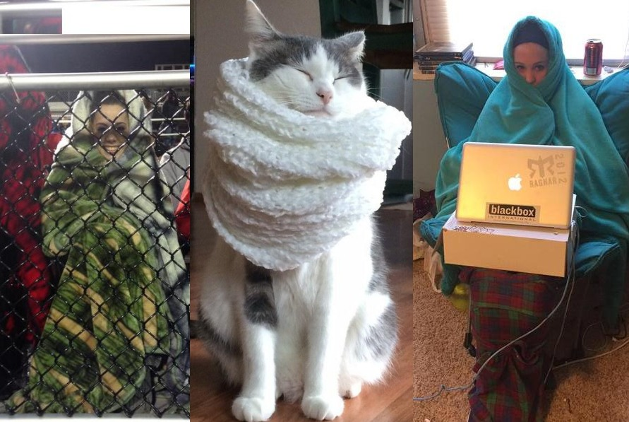 19 Struggles of People Who Feel Super Cold Always!