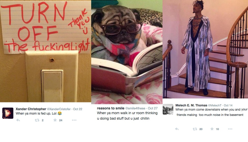 23 Extremely Funny Tweets About Hilarious Things Moms Do All the Time