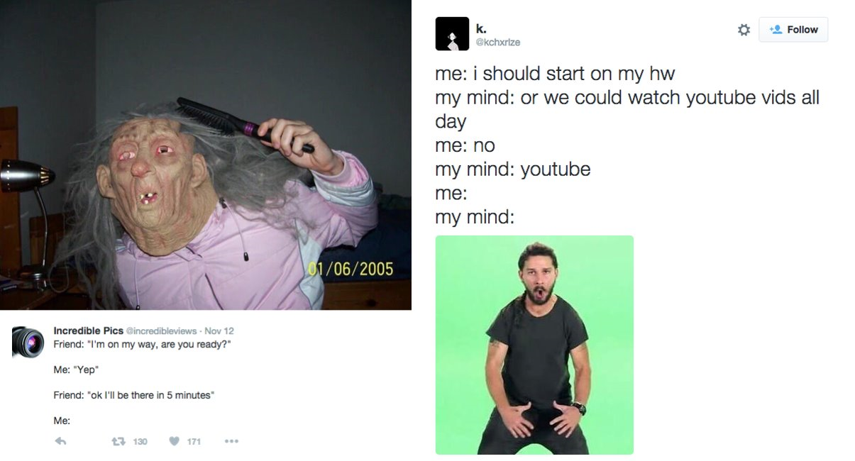 22 Hilarious Tweets Procrastinators Will Totally Relate To