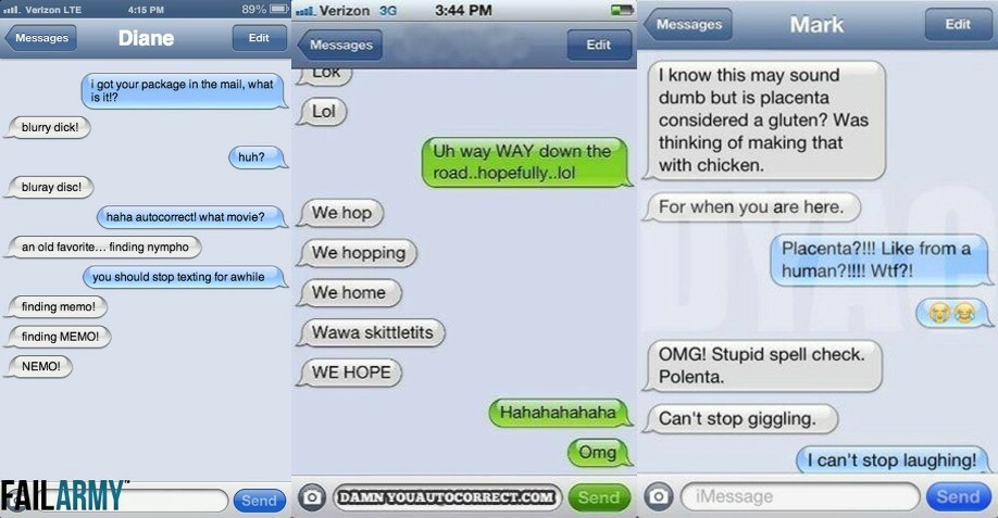 23 Hilarious Times Autocorrect Totally Embarrassed People