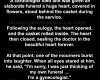 A cardiologist died and was given an elaborate funeral.