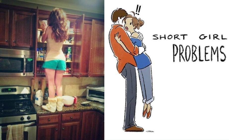 18 Struggles of Boyfriend With Girlfriends of Short Height