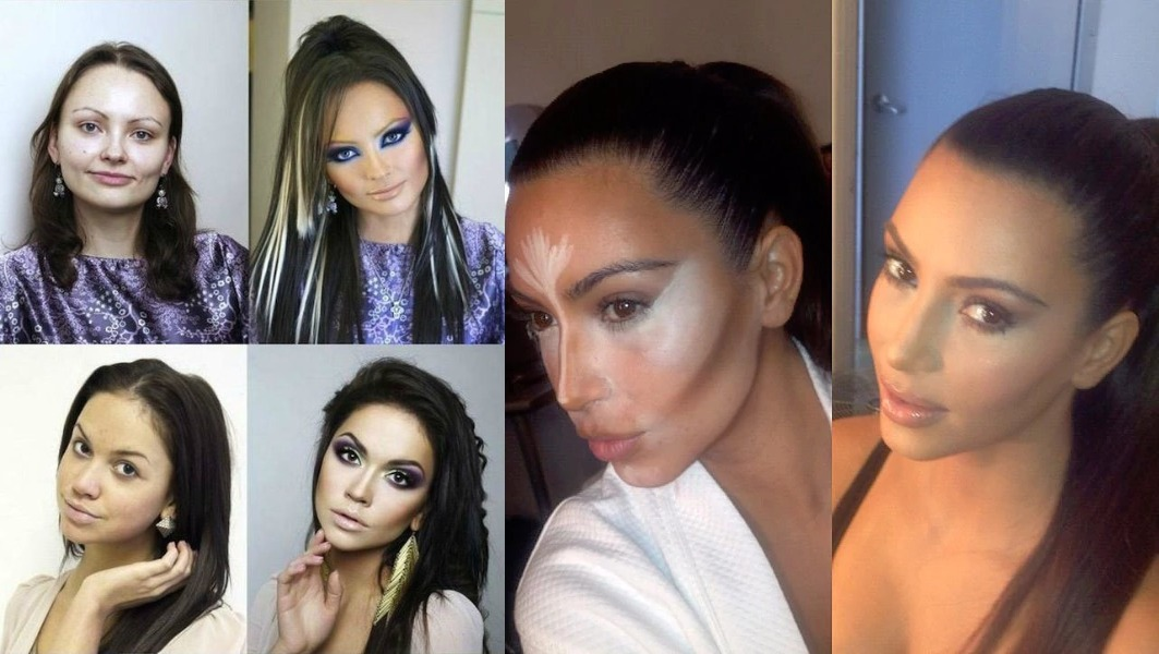 These Pictures Will Tell You How Your Girlfriend Looks With Makeup